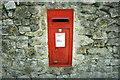 ST7166 : 2008 : George VI postbox near Newbridge by Maurice Pullin