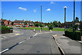 SK5140 : Council Estate Roundabout by David Lally