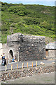 SX0991 : Forrabury and Minster: old lime kiln, Boscastle by Martin Bodman