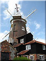 TG0444 : Cley tower mill by Evelyn Simak