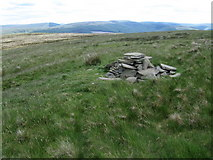 NT2526 : Dryhope Rig cairn by Chris Wimbush