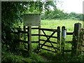 SP7432 : Public Footpath by Mr Biz