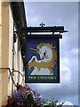 TL4856 : The Unicorn - sign by Keith Edkins