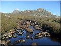 NG8262 : An Ruadh-mheallan from Craig River by Rob Woodall
