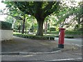 SZ0892 : Talbot Woods: postbox № BH3 214, East Avenue by Chris Downer
