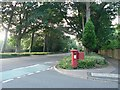 SZ0792 : Talbot Woods: postbox № BH4 256, Glenferness Avenue by Chris Downer