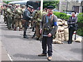 SD8022 : War Weekend at Rawtenstall Station 2008 by Paul Anderson