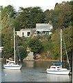 SW8238 : Creek Vean House Pill Creek by Ian Graymore