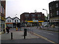 TQ4672 : Junction of Old Farm Avenue and Station Road, Sidcup by Dr Neil Clifton
