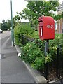 SZ0794 : Ensbury Park: postbox № BH10 156, Ensbury Avenue by Chris Downer