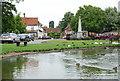 SP7408 : Haddenham: Church End by Ed Andrews