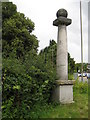 SU8394 : West Wycombe: The Pedestal by Nigel Cox