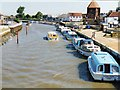 TG5208 : Boats on the river Bure by Tony Bacon