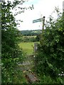 SE3003 : Footpath to Lower Falthwaite by Wendy North