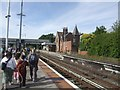 SJ3478 : Hooton Railway Station by John M