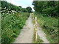 SU2793 : Bridleway, near Faringdon golf course by Brian Robert Marshall