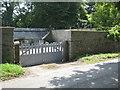 SW8237 : Walled garden at Porthgwidden by Rod Allday