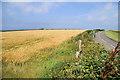 SW7758 : Fields by Holywell Road by Pierre Terre