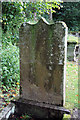 NT1024 : The martyr's grave at Tweedsmuir Kirkyard by Walter Baxter