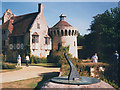 TQ6835 : Sundial at Scotney Castle by Stephen Craven