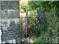 SX4559 : Kissing Gate, St. Budeaux Church, Plymouth. by Mick Lobb