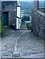 ST0483 : Ffordd gefn / A back lane by Ceri Thomas