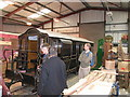 SH5837 : Wood workshop at Boston Lodge works, Ffestiniog Railway by Rudi Winter