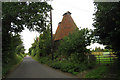 TQ9461 : Unconverted Oast House at The Batteries, ClaxfieldRoad, Lynsted, Kent by Oast House Archive