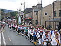 SD9905 : Saddleworth Rushcart Festival by Paul Anderson