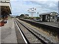 SP7318 : Quainton Road station, platforms by Oxyman