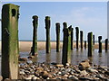 TA4112 : Groynes, Spurn Beach : Week 35