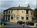 TL8564 : The Gaff, unusually shaped pub by John Goldsmith