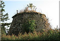 Dist:0.4km<br/>This is the top part of a circular beehive type of rubble doocot that dates back to the 16th century. It stands in a garden adjacent to the parish church.