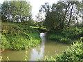 SP7028 : Padbury Brook, King's Bridge by Andy Gryce