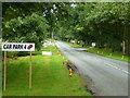 SJ8070 : B5392 at Four Oaks Nurseries 2 by Jonathan Billinger