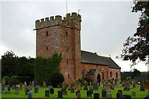 NY5536 : St Cuthbert's Church, Great Salkeld by Trevor Harris