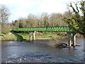 NS6860 : The Green Bridge leading to Uddingston by Lairich Rig