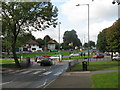 SP0383 : University roundabout - A4040 by Peter Whatley