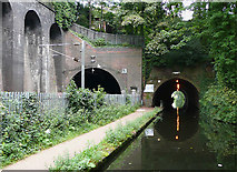 SP0585 : Edgbaston Tunnels, Birmingham by Roger  Kidd