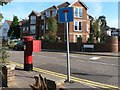 SZ0690 : Westbourne: postbox № BH4 127, Rosemount Road by Chris Downer