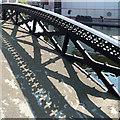 SP0586 : Canal bridge at Farmer's Bridge Junction, Birmingham by Roger  Kidd