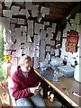 NY5564 : DIY tearoom at Haytongate Farm : Week 38