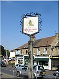 TQ5067 : Crockenhill village sign by Nick Smith
