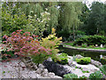TQ4475 : Landscaped gardens at Eltham Crematorium, Falconwood by Roger  Kidd