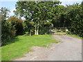SP6512 : Bridleway by Leatherslade farm by Shaun Ferguson