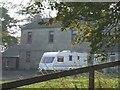 NS8371 : Roughrigg Farm by John Lord