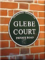 SU4214 : Glebe Court sign by Nichola Caveney