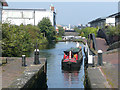 SP0788 : The Aston Flight, Lock 19, Birmingham and Fazeley Canal by Roger  Kidd
