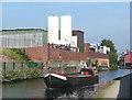 SP0889 : Working canal boat in Aston, Birmingham by Roger  Kidd