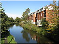 SO9686 : Modern Apartments by the Dudley Canal, Old Hill by Peter Whatley